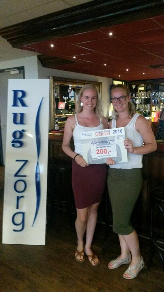 €200 sponsorgeld gewonnen voor de colorguards